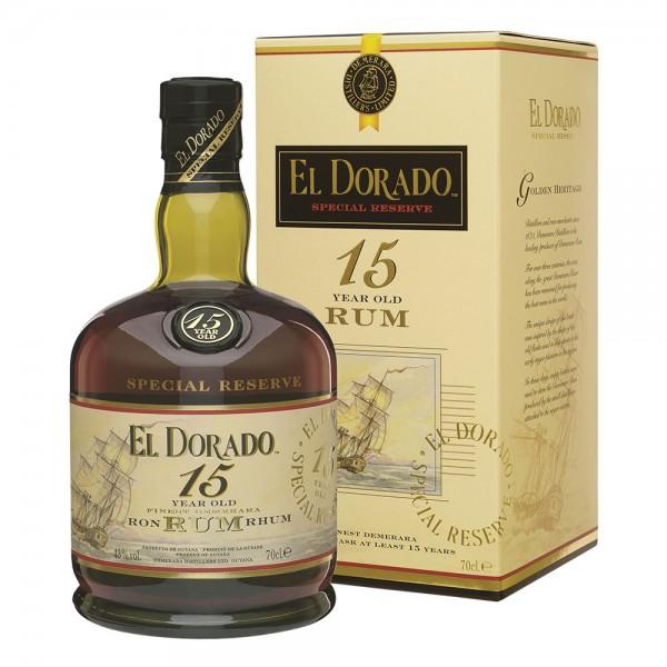 El Dorado Rum 15 Year Old 70cl (Gift Boxed)