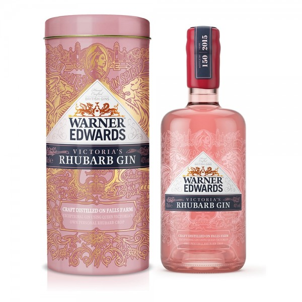 Warner Edwards Rhubarb in Gift Tin 70cl