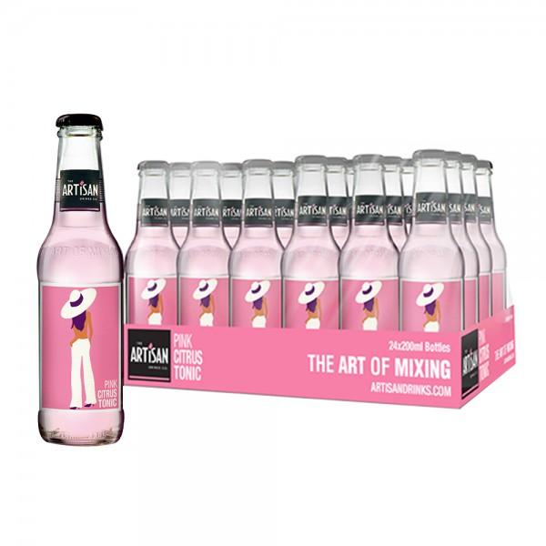 Artisan Pink Citrus Tonic 24X20cl