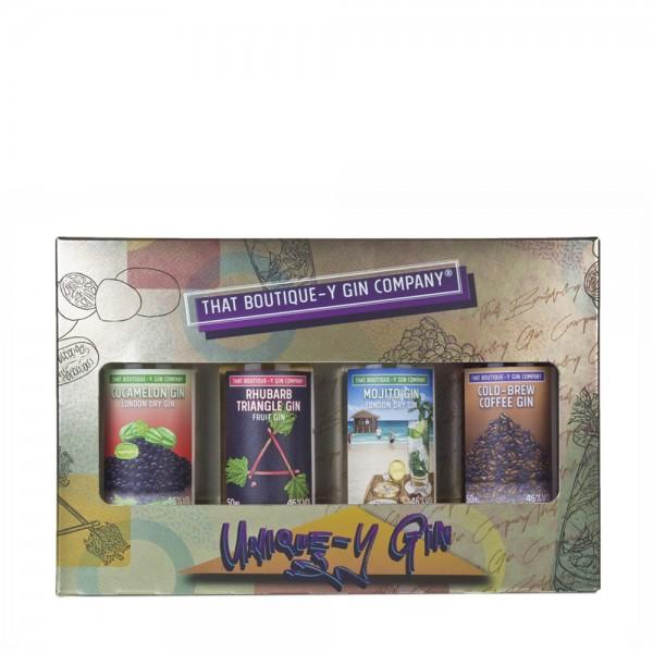 Unique-y Gin Gift Set 4X5Cl