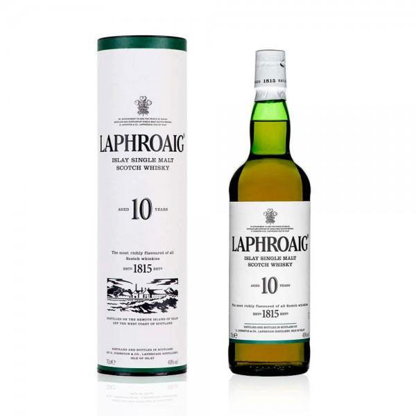 Laphroaig 10 yr 70cl Single Malt Gift Boxed