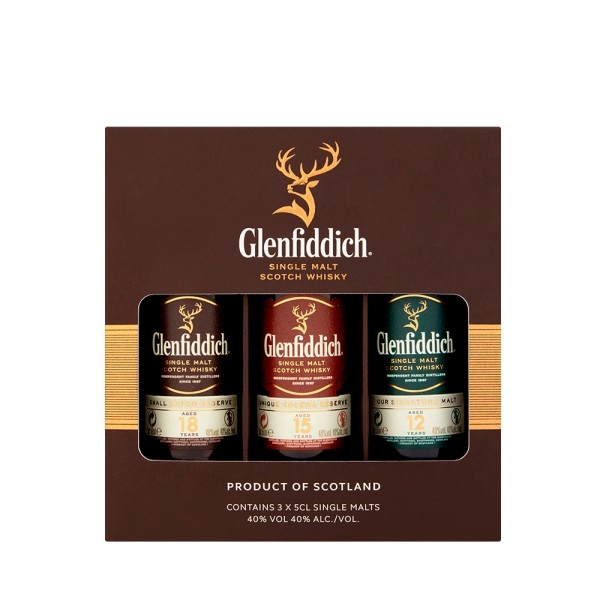 Glenfidditch Gift Pack 3x5cl