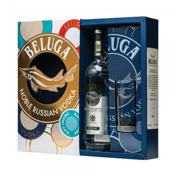 Beluga Noble Gift Pack 70cl