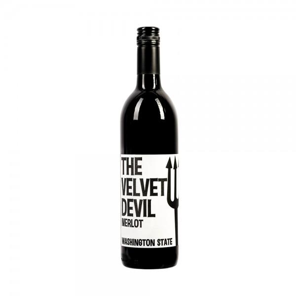 Velvet Devil Merlot (2016) 75Cl