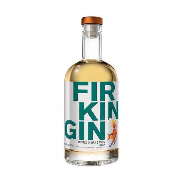Firkin Islay Cask Cask Aged Gin 70cl