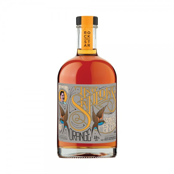 Two Swallows Orange & Ginger Rum 50cl