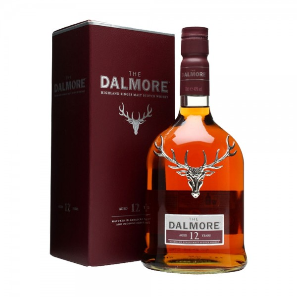 The Dalmore 12 yr Old (Gift Boxed)