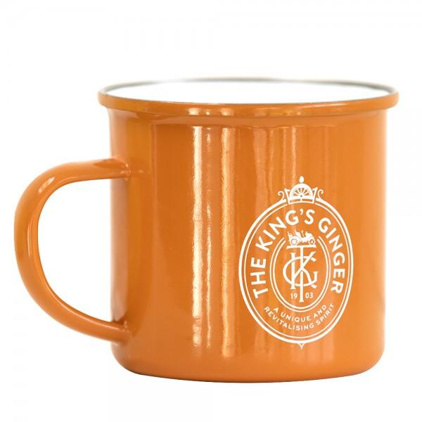 King's Ginger Enamel Mug