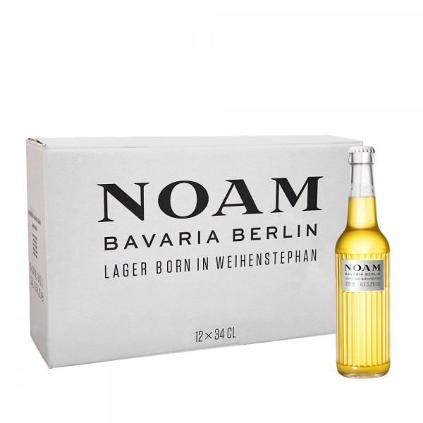 NOAM Beer 12x34cl