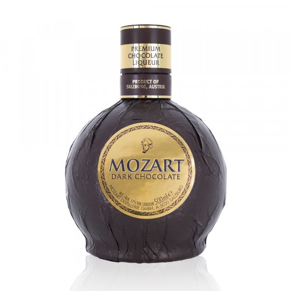 Mozart Dark Chocolate Liqueur 50cl