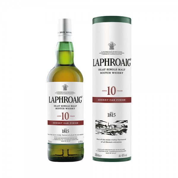 Laphroaig 10 Year Old Sherry Oak Finish Single Malt 70cl