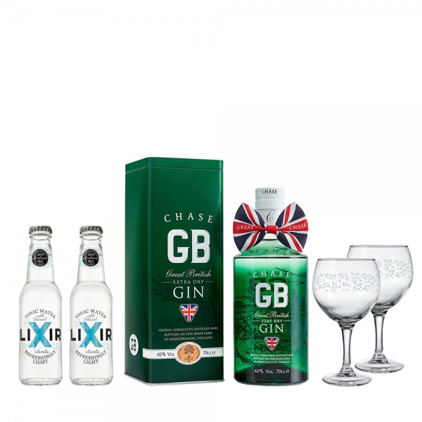 Chase GB Gin with Gift Tin 70Cl