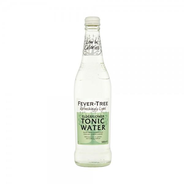 Fever-Tree Refreshingly Light Elderflower Tonic Water 50cl