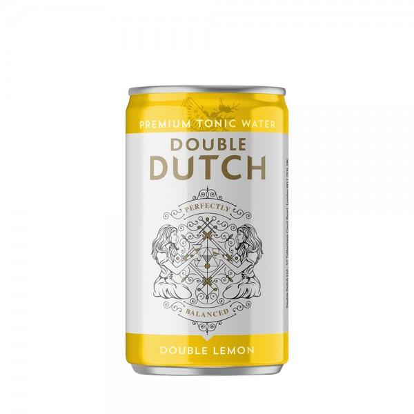Double Dutch Double Lemon Can 15cl