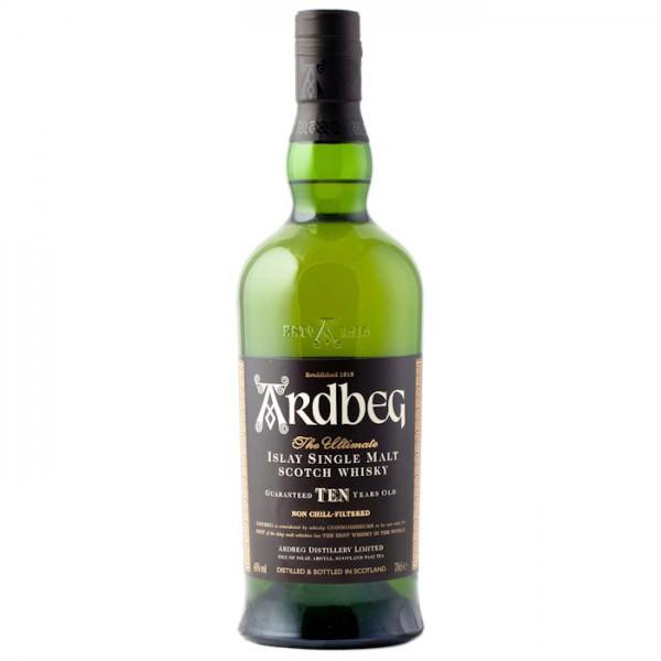 Ardbeg 10 Year Old Malt Whisky 70Cl