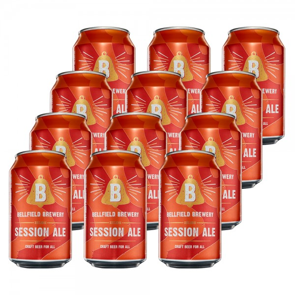 Bellfield Session Ale Can 12x33Cl