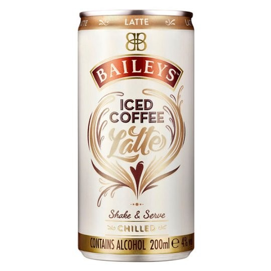 Baileys Ice Cofee Latte Can Premix 200ml