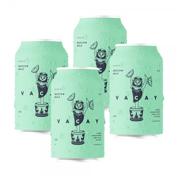 Vacay Moscow Mule 4x33cl