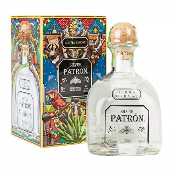 Patron Silver In Gift Tin 70Cl