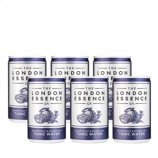 London Essence Grapefruit & Rosemary Tonic Can 6x15cl