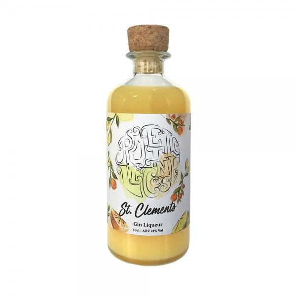 Poetic License St Clements Gin Liqueur 50cl