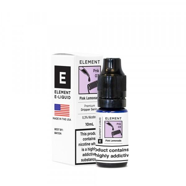 Element Dripper- Pink Lemonade (03 mg/Nic) 10mg