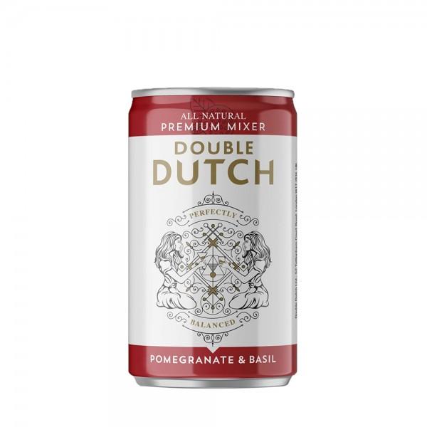 Double Dutch Pomegranate & Basil Mixer Can 15cl