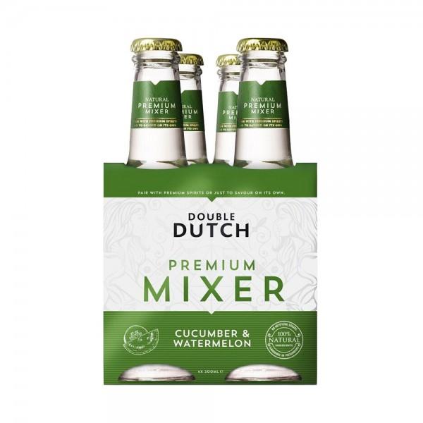 Double Dutch Cucumber & Watermelon Mixer 4X20cl
