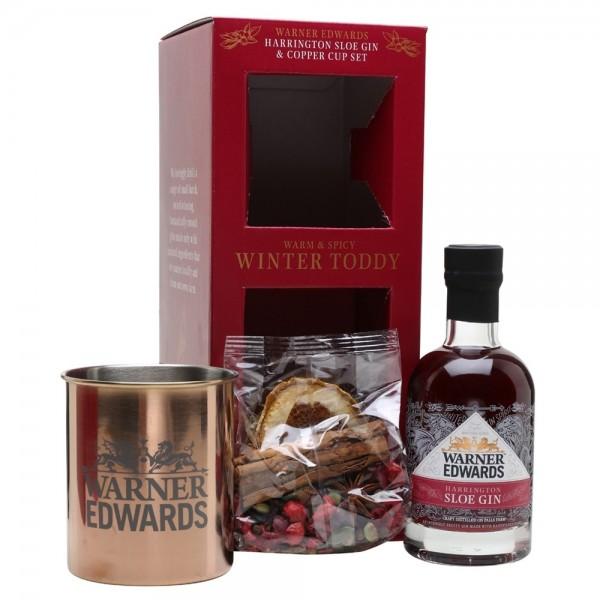 Warner Edwards Mulled Sloe Gin Gift Set with Mug 20cl