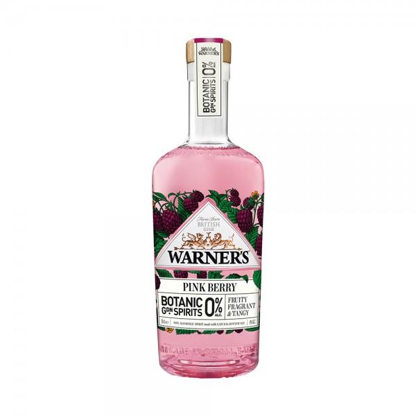 Warner's Botanical Garden Spirits Pink Berry 0% 50cl